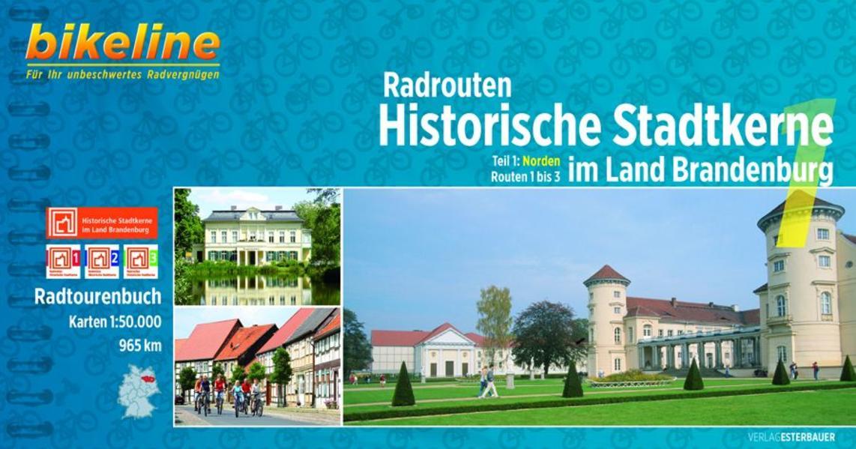 Radrouten Historische Stadtkerne im Land Brandenburg - Coverbild