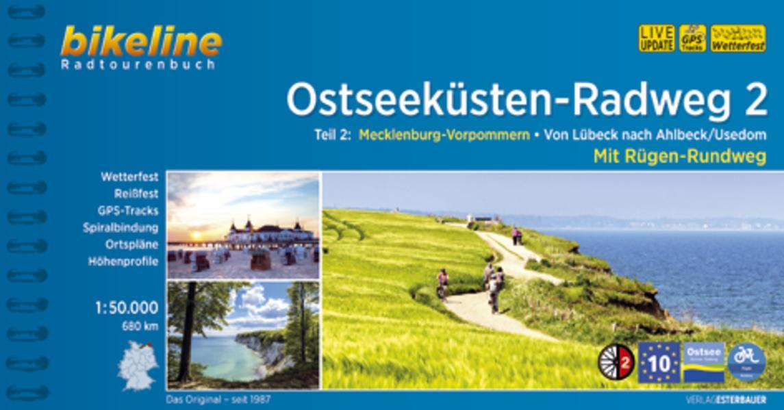 Ostseeküsten-Radweg 2 - Coverbild