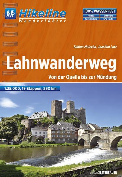 Fernwanderweg Lahnwanderweg - Coverbild