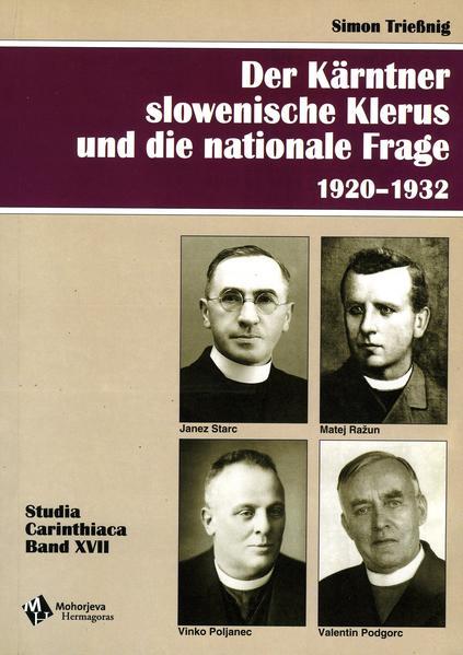 Der Kärntner slowenische Klerus und die nationale Frage 1920-1932 - Coverbild