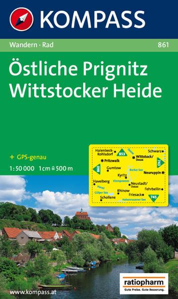 Östliche Prignitz - Wittstocker Heide - Coverbild