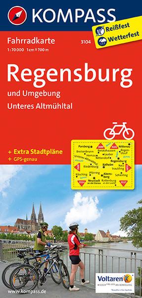 Regensburg und Umgebung - Unteres Altmühltal - Coverbild