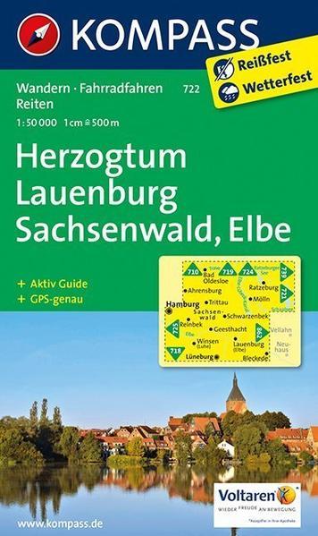 Herzogtum Lauenburg - Sachsenwald - Elbe - Coverbild