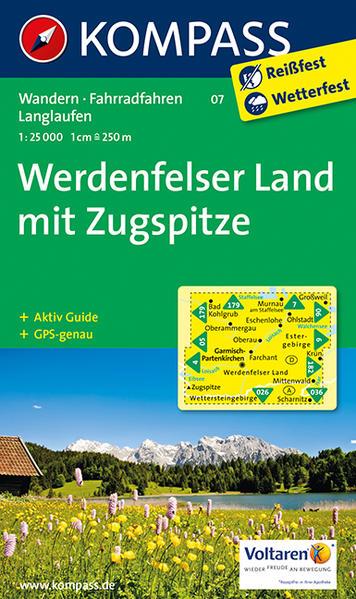 Werdenfelser Land mit /Zugspitze von KOMPASS-Karten GmbH PDF Download