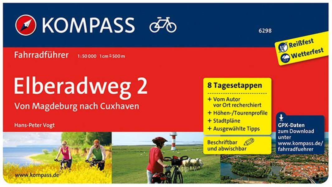 Elberadweg von Magdeburg nach Cuxhaven - Coverbild
