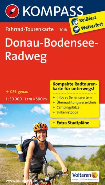Donau-Bodensee-Radweg - Coverbild