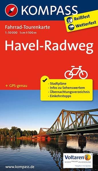Havel-Radweg - Coverbild