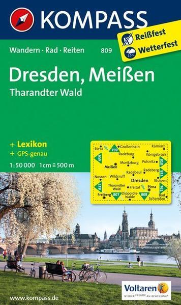 Dresden - Meißen - Tharandter Wald - Coverbild