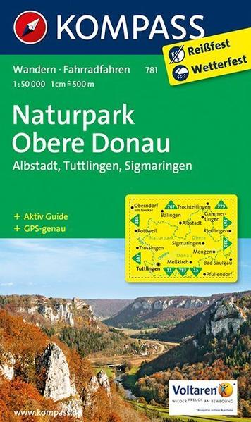 Naturpark Obere Donau - Albstadt - Tuttlingen - Sigmaringen - Coverbild