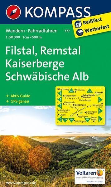 Filstal, Remstal, Kaiserberge, Schwäbische Alb - Coverbild