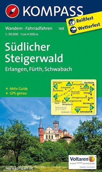 Südlicher Steigerwald - Erlangen - Fürth - Schwabach - Coverbild