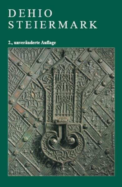Dehio Steiermark - Coverbild