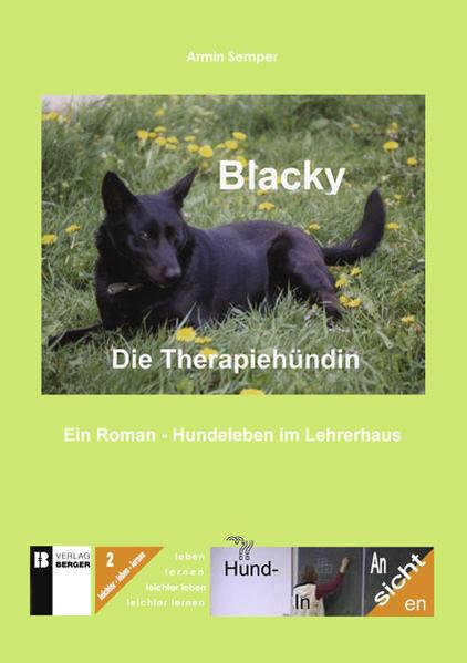 Blacky. Die Therapiehündin - Coverbild