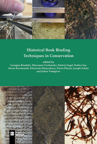 Historical Book Binding Techniques in Conservation - Coverbild