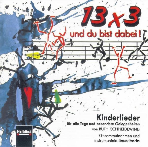 13 x 3 und du bist dabei! AudioCD - Coverbild