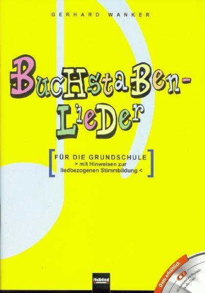 Buchstabenlieder. Heft und AudioCD - Coverbild