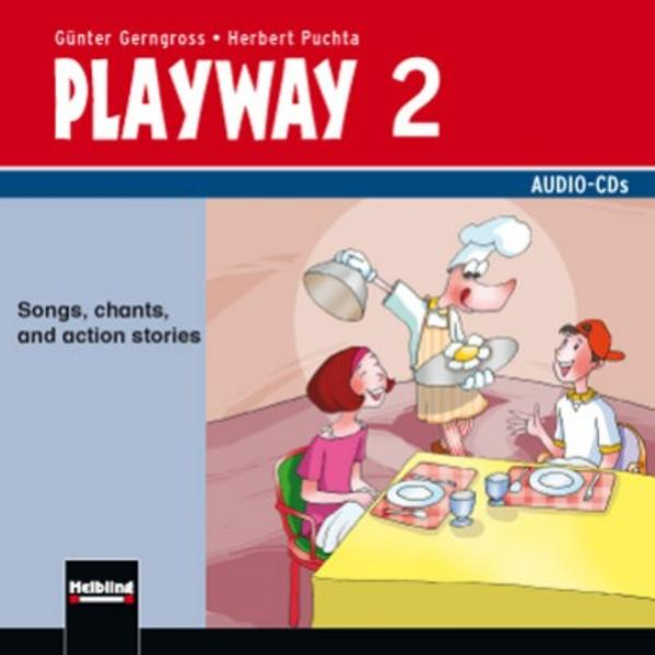 Playway 2 NEU Audio-CDs - Coverbild
