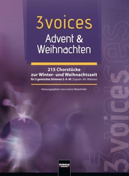 3 voices Advent & Weihnachten - Coverbild