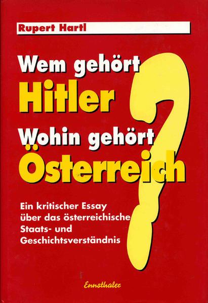 Wem gehört Hitler - Wohin gehört Österreich? Epub Herunterladen