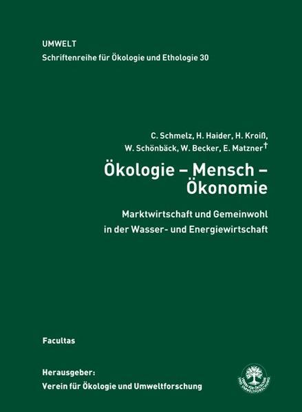 Ökologie - Mensch - Ökonomie - Coverbild