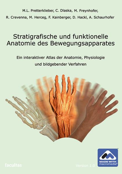 Stratigrafische und funktionelle Anatomie des Bewegungsapparates - Coverbild
