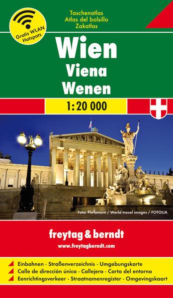 Taschenatlasbox Wien - Coverbild