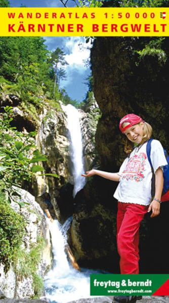 Wanderatlas Kärntner Bergwelt - Coverbild