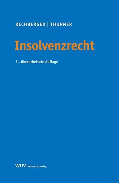 Insolvenzrecht - Coverbild