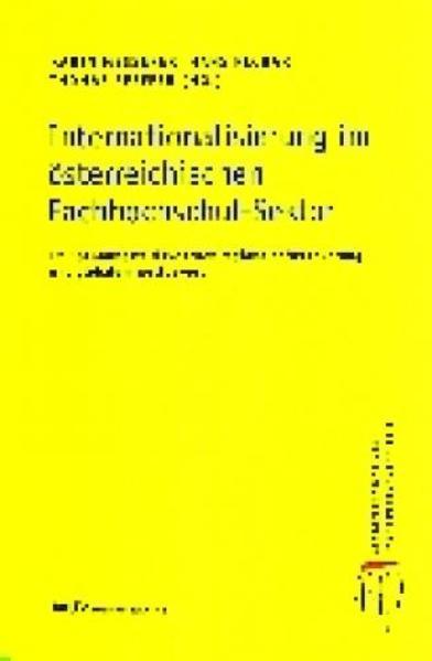 Internationalisierung im österreichischen Fachhochschul-Sektor - Coverbild