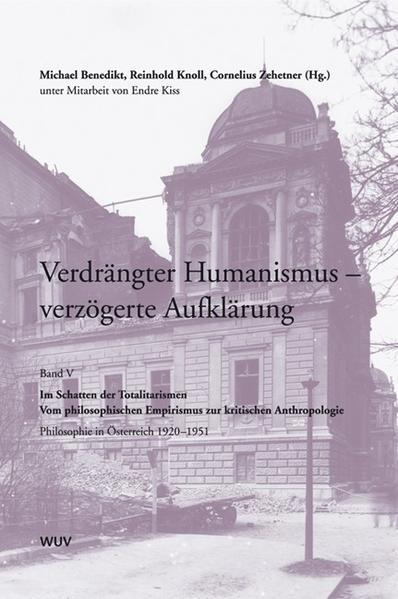 Verdrängter Humanismus - verzögerte Aufklärung. Philosophie in Österreich - Coverbild