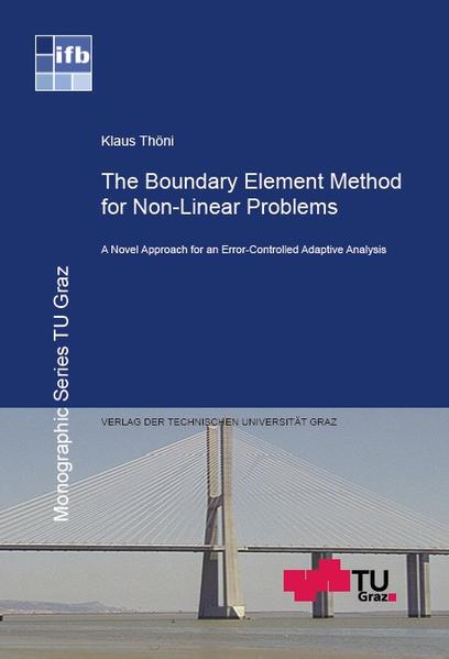 The Boundary Element Method for Non-Linear Problems - Coverbild
