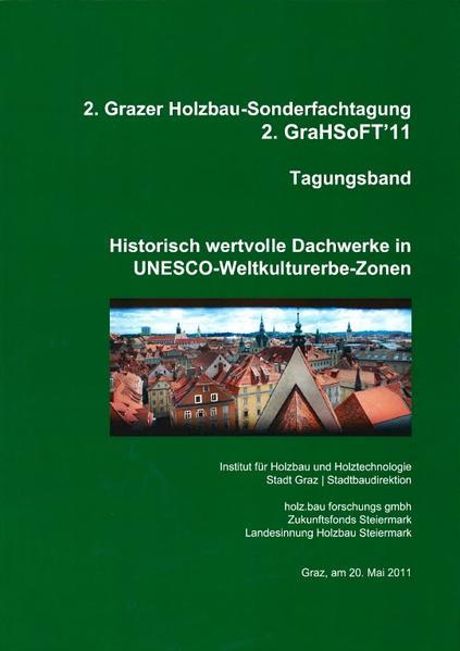 Historisch wertvolle Dachwerke in UNESCO-Weltkulturerbe-Zonen - Coverbild