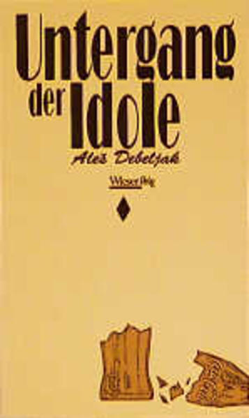 Untergang der Idole - Coverbild