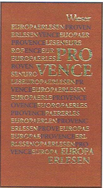 Europa Erlesen Provence - Coverbild