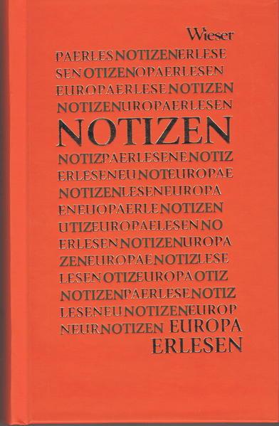 Europa Erlesen Notizen - Coverbild