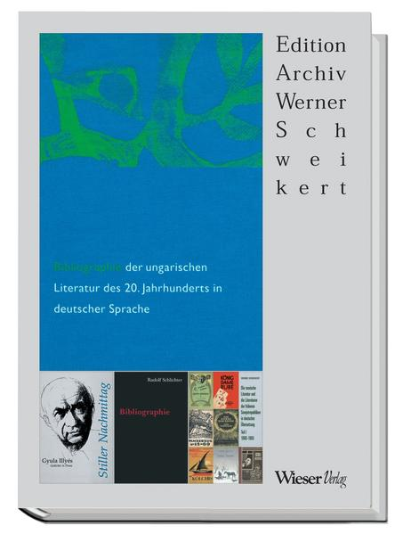 Bibliographie der ungarischen Literatur des 20. Jahrhunderts in deutscher Sprache - Coverbild