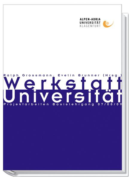 Werkstatt Universität 2 - Coverbild