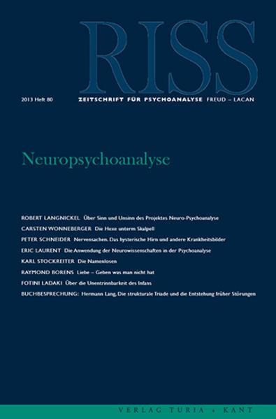 Neuropsychoanalyse - Coverbild