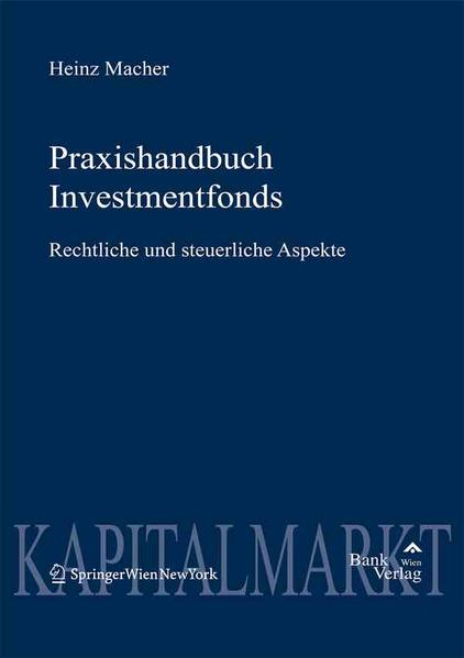 Praxishandbuch Investmentfonds - Coverbild