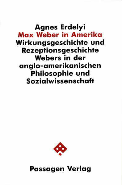 Max Weber in Amerika - Coverbild