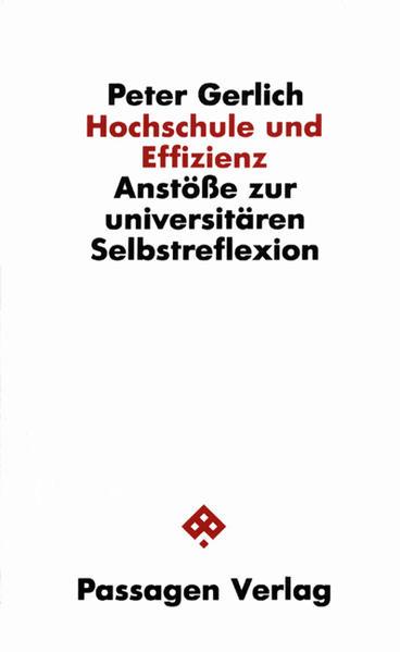 Hochschule und Effizienz - Coverbild