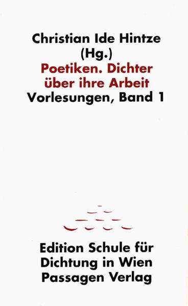 Poetiken. Dichter über ihre Arbeit - Coverbild