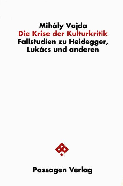 Die Krise der Kulturkritik - Coverbild