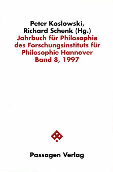 Jahrbuch für Philosophie des Forschungsinstituts für Philosophie Hannover / Jahrbuch für Philosophie des Forschungsinstituts für Philosophie Hannover - Coverbild