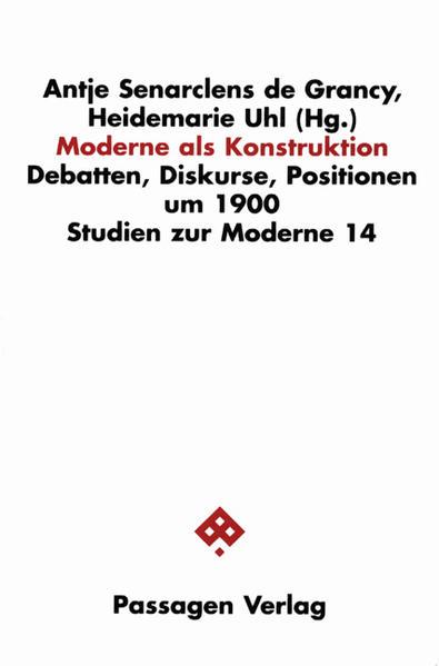 Moderne als Konstruktion - Coverbild