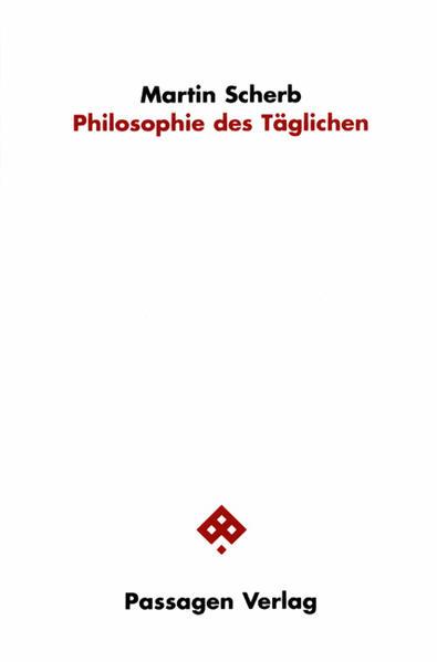 Philosophie des Täglichen - Coverbild