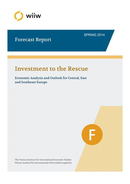 wiiw FORECAST REPORT / Spring 2014 - Coverbild