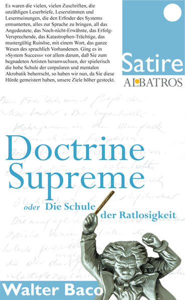 Doctrine Supreme - Coverbild