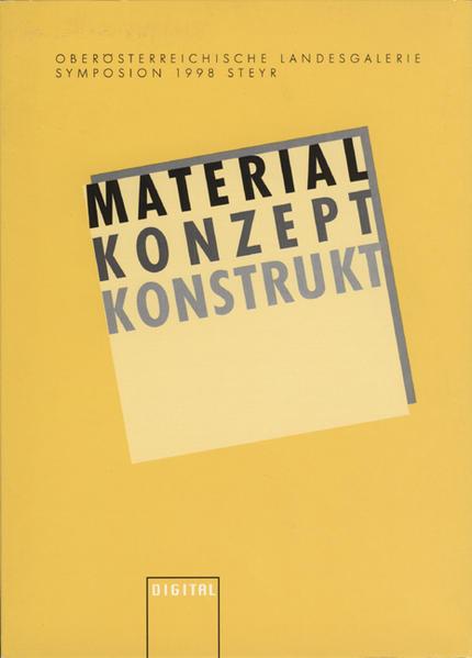 Material, Konzept, Konstrukt - Coverbild