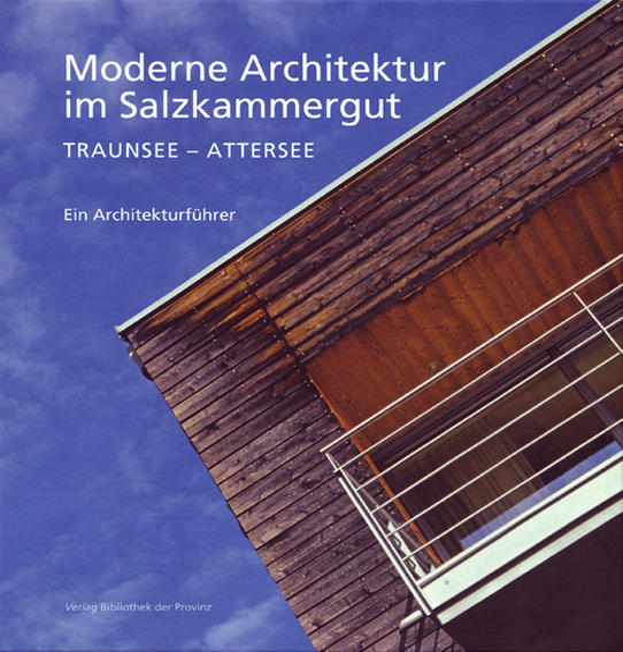Moderne Architektur im Salzkammergut - Coverbild